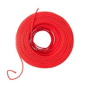 rood gedraaid strijkijzersnoer