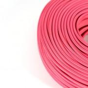 strijkijzersnoer roze detail