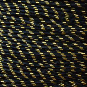 strijkijzersnoer-zwartgeel-gestreept